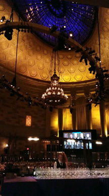 The 16th Annual Library of American Broadcasting Foundation's Giants of Broadcasting & Electronic Arts Luncheon in the grand ballroom of Gotham Hall